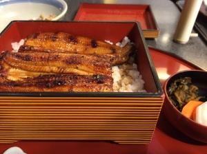 昼食:鰻重
