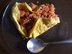 朝食2 オムライス