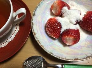 昼食後のデザート