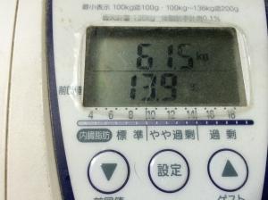 起床時の体重