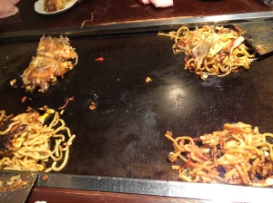 夕食 モダン焼き